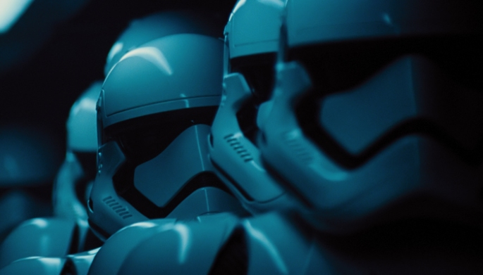 Star Wars: The Force Awakens Stormtroopers Ph: Film Frame ©Lucasfilm 2015