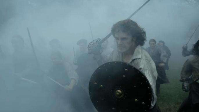 Outlander2x10-Jamie Battle