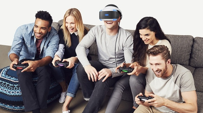 PS VR lifestyle
