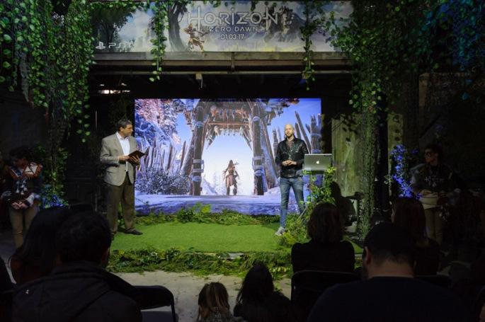 """Presentación de """"Horizon Zero Dawn"""" para PS4"""