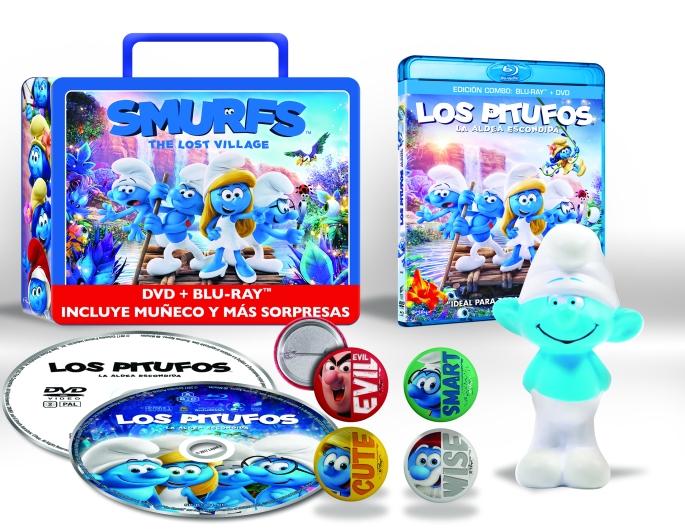 LOS PITUFOS LA ALDEA ESCONDIDA (BD + DVD) (ED. ESPECIAL LUNCHBOX) - VTA - 8414533106238 - Beauty.jpg