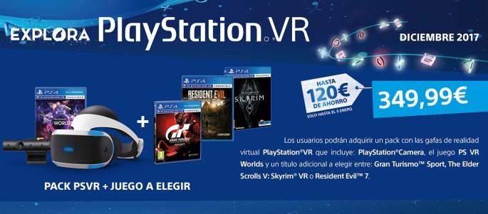 PS VR Pack Navidad