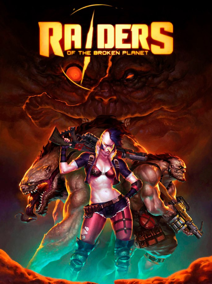 Raiders of the Broken Planet - Cover