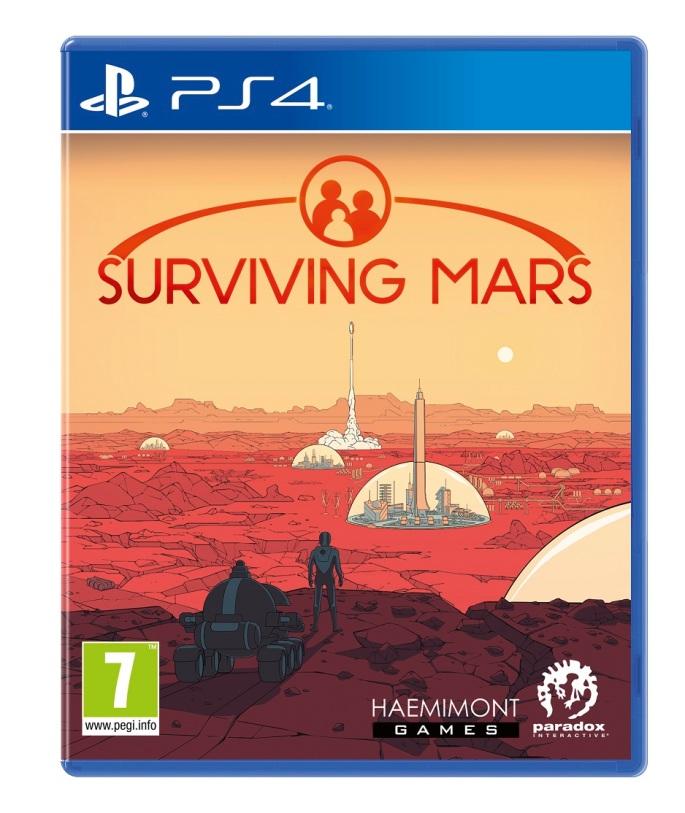 Survival Mars Caratula