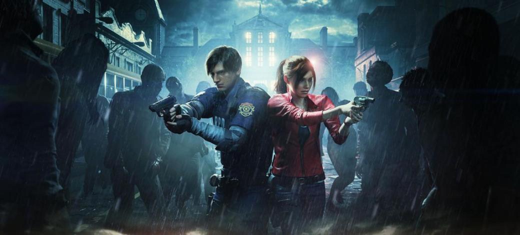 Resident evil 2 Portada