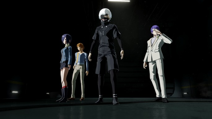 Tokyo Ghoul re Call to Exist 01