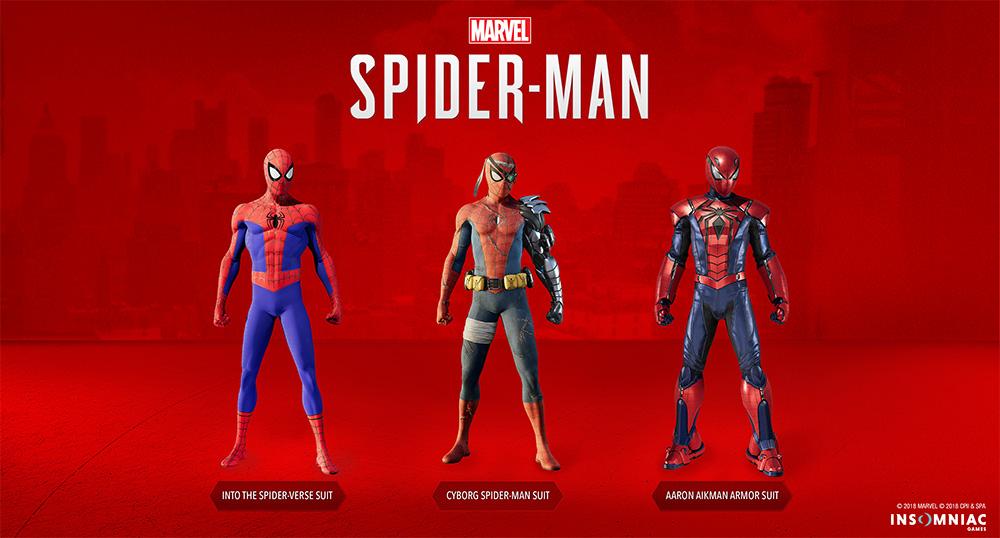 Trajes DLC3 Marvels's Spider-Man