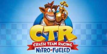 Crash Team Racing Nitro-Fueled Portada