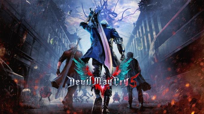 DevilMayCry5 arte_
