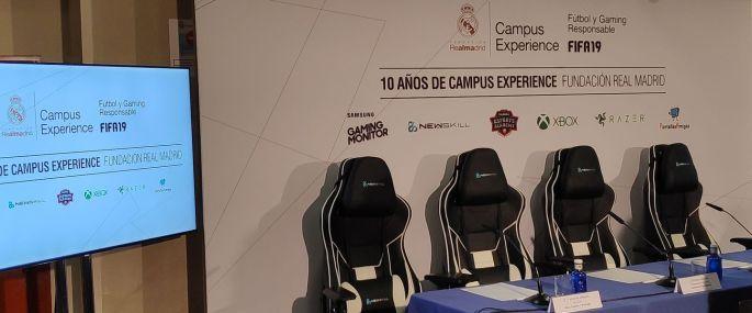 Razer y Campus Experience Fundación Real Madrid 01