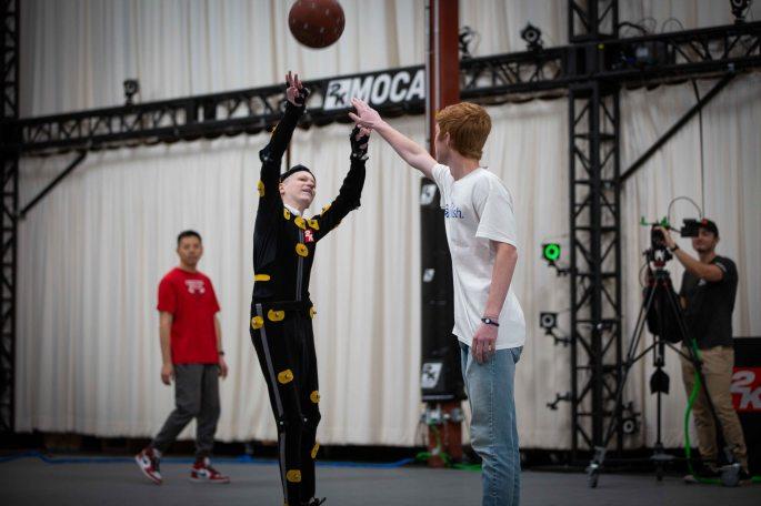 Make-A-Wish and NBA 2K - William Jumpshot at Mocap.jpg