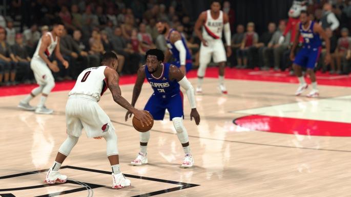 NBA 2K21 (Current-Gen) - Damian Lillard Size-Up