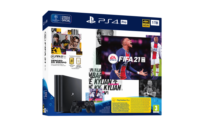 PS4_Pro_G1TB_2xDS4_FIFA21_Packshot_3D_SPA